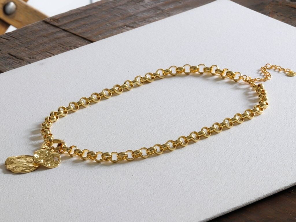 Selina Gold Plated Belcher Chain