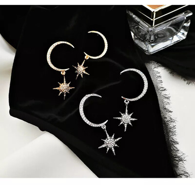 Celeste Sparkly Statement Earrings