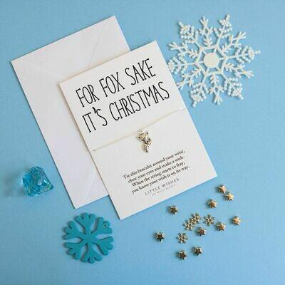 For Fox Sake It's Christmas Little Wish