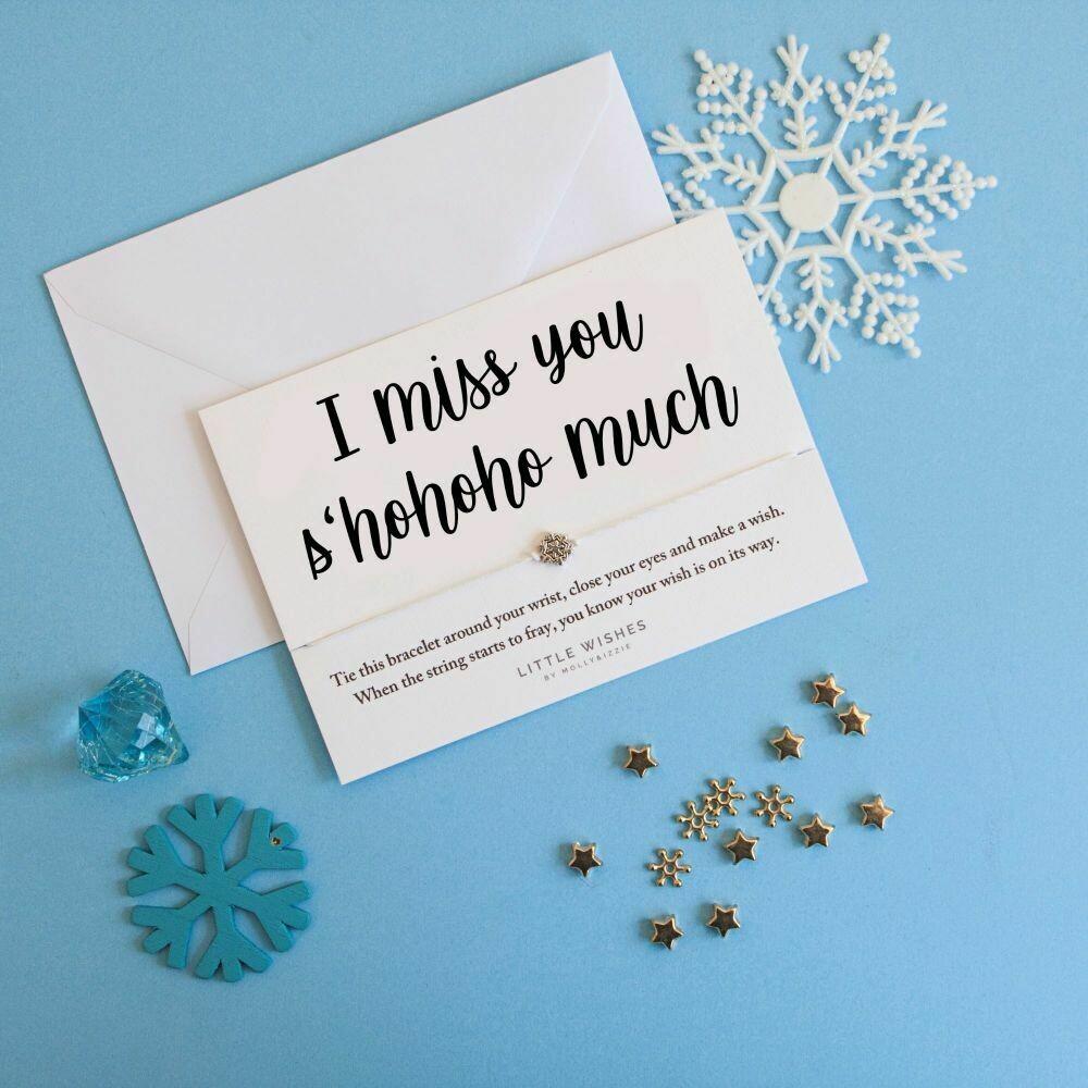 I Miss You S'HoHoHo Much Wish