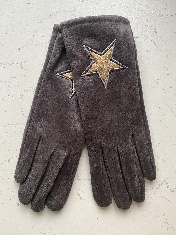 Gold Star Touchscreen Gloves
