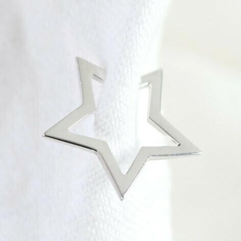 Estelle Sterling Silver Ear Cuff