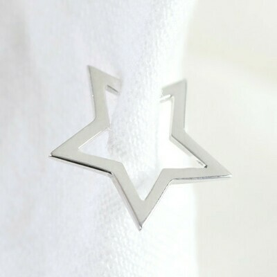 Estelle Sterling Silver Ear Cuff