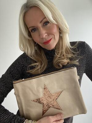 Zara Star Clutch