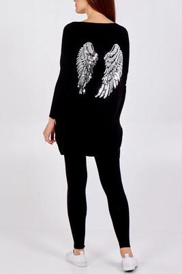 Gigi Loungewear Set Black