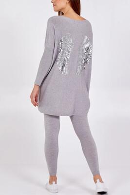 Gigi Loungewear Set Grey