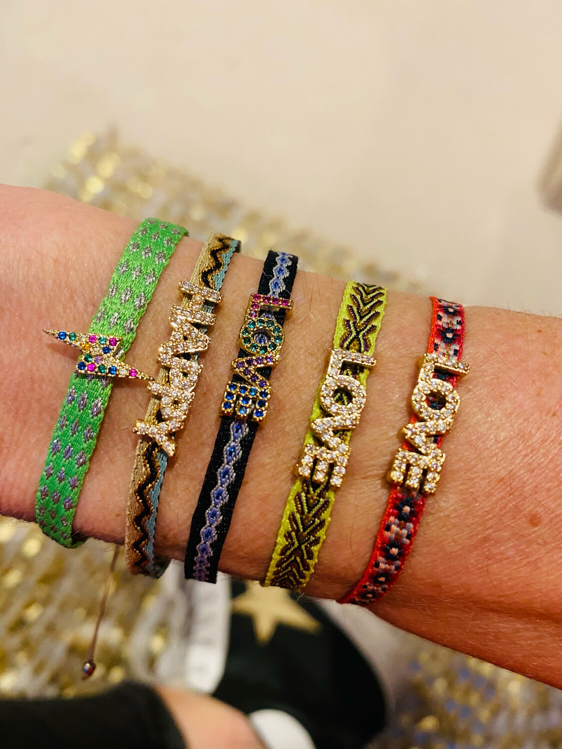 Positivity Friendship Bracelets