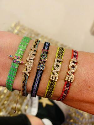 Positivity Friendship Bracelets