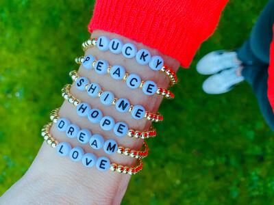 Positivity Bracelets Gold