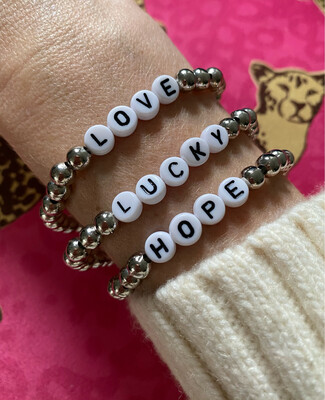 Positivity Bracelets Silver