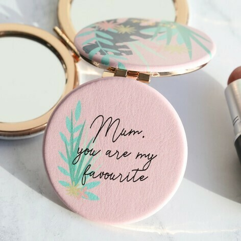 Mum You Are My Favourite Compact Mirror