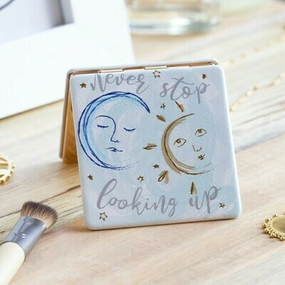 Never Stop Looking Up Compact Mirror