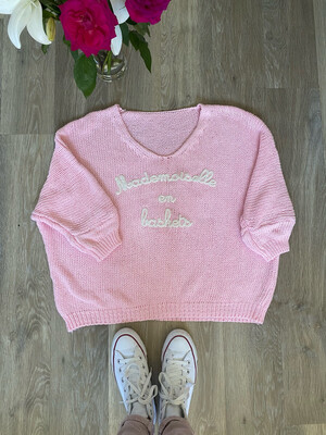 Mademoiselle Knit Pink