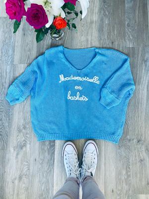 Mademoiselle Knit Blue