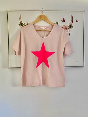Bellatrix Tee Pink
