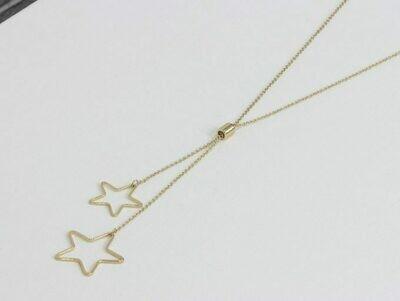 Megan Stars Long Necklace