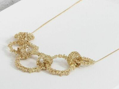 Cordelia Statement Necklace Gold