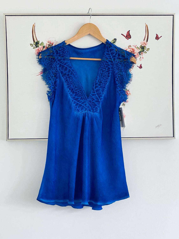 Sophie Lace Cami Royal Blue