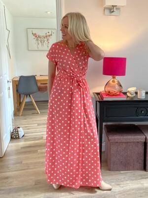 Lorna Polka Dot Dress