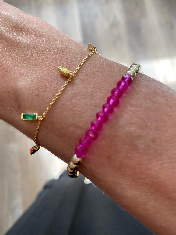 Iris Rainbow Delicate Bracelet