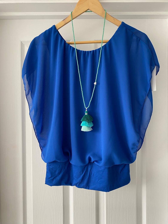 Sophia Blouse Blue