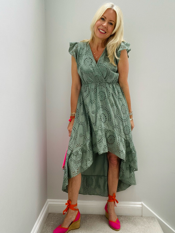 Amber Dress Khaki