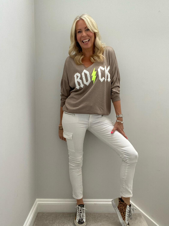 Ruby Rock Sweater