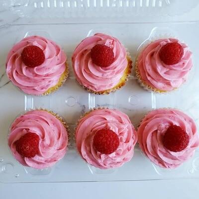 6 Count Cupcake Box
