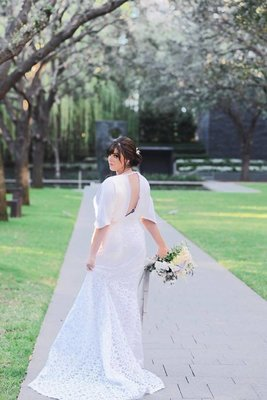 Custom Wedding Gown ( Designed upon Requst )