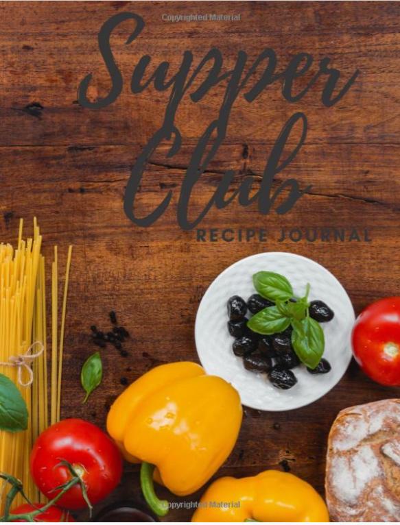 Supper Club Recipe Journal