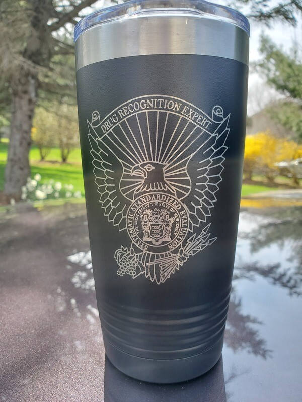 New Jersey DRE Engraved Tumblers