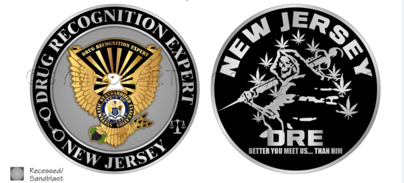 New Jersey DRE Challenge Coin
