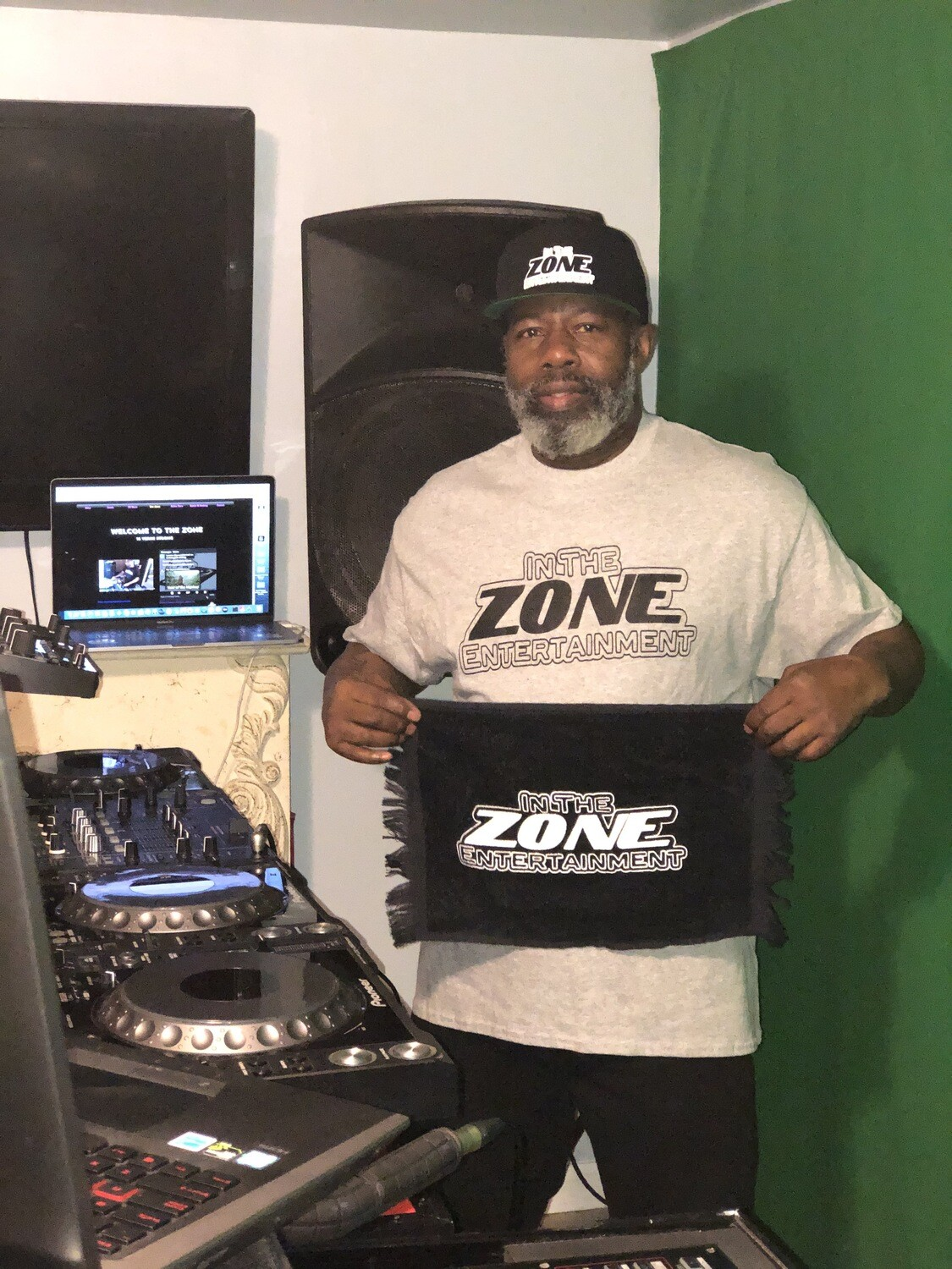 Gray In The Zone T-Shirt  L, XL, 2X, 3X