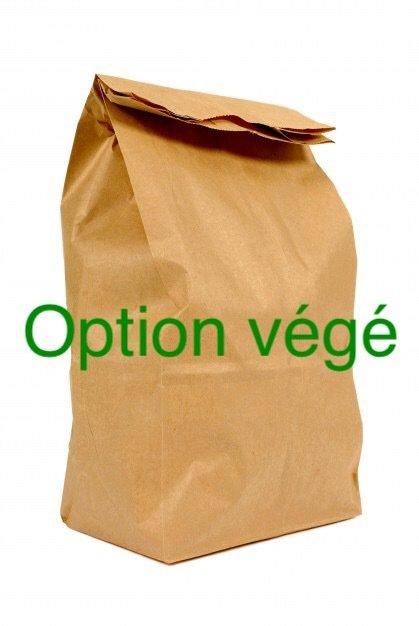 Sac à lunch végétarien