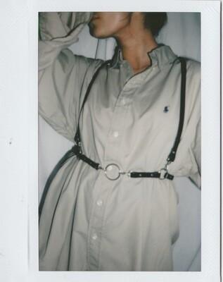 AERYNN | Thin shoulder harness O-ring black