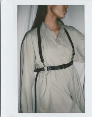 NOAH | shoulder harness Black