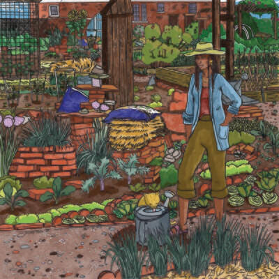 Garden Vibes - print