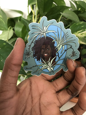 Black Girl Joy Sticker