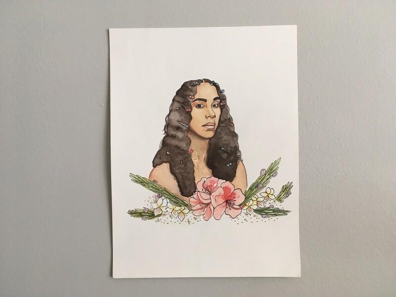Portrait of Solange