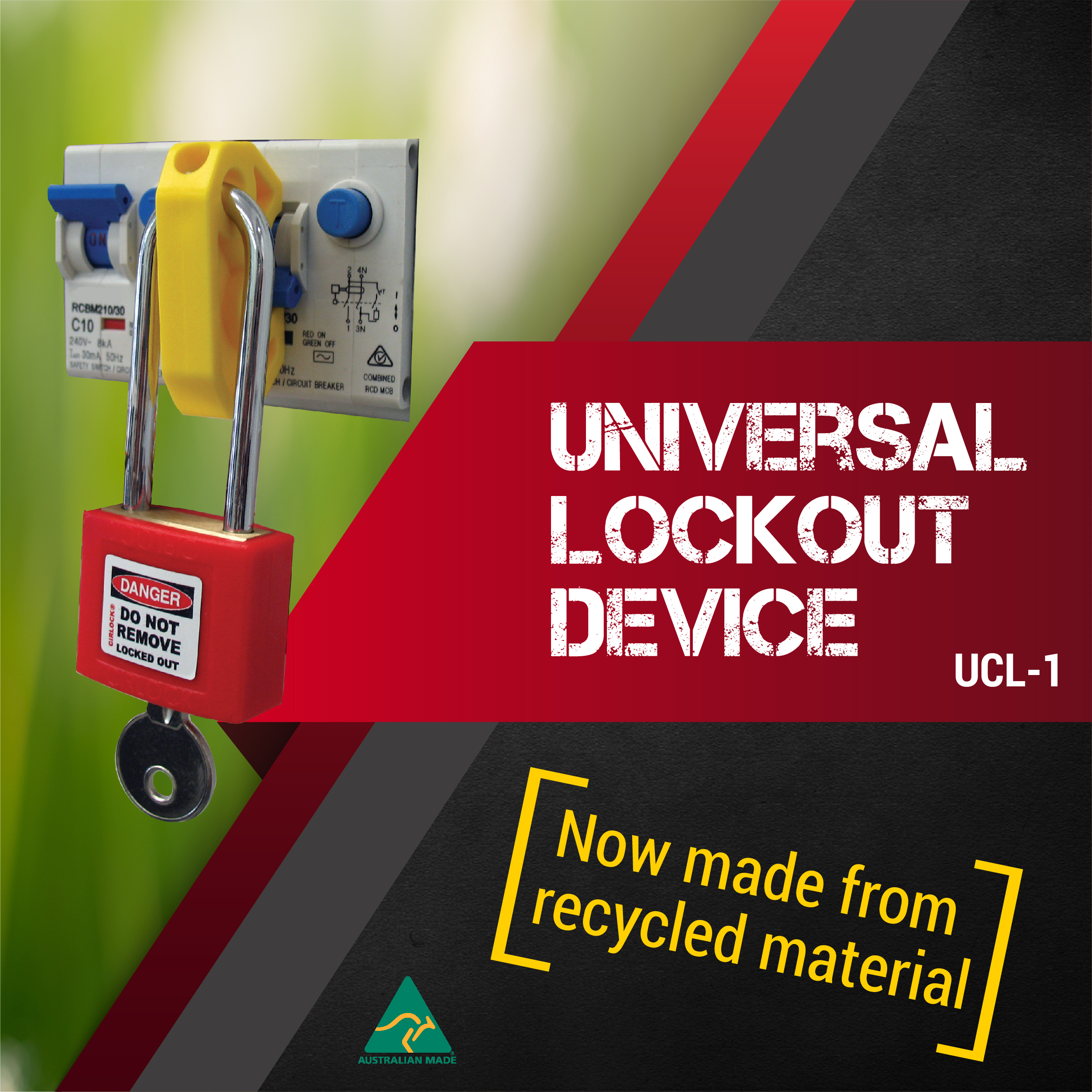 UCL-1 Universal Lockout Device for Miniature Circuit Breakers