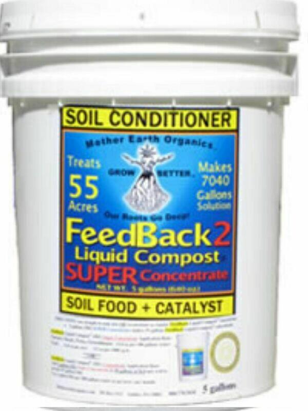 FEEDBACK Liquid Compost Super Concentrate