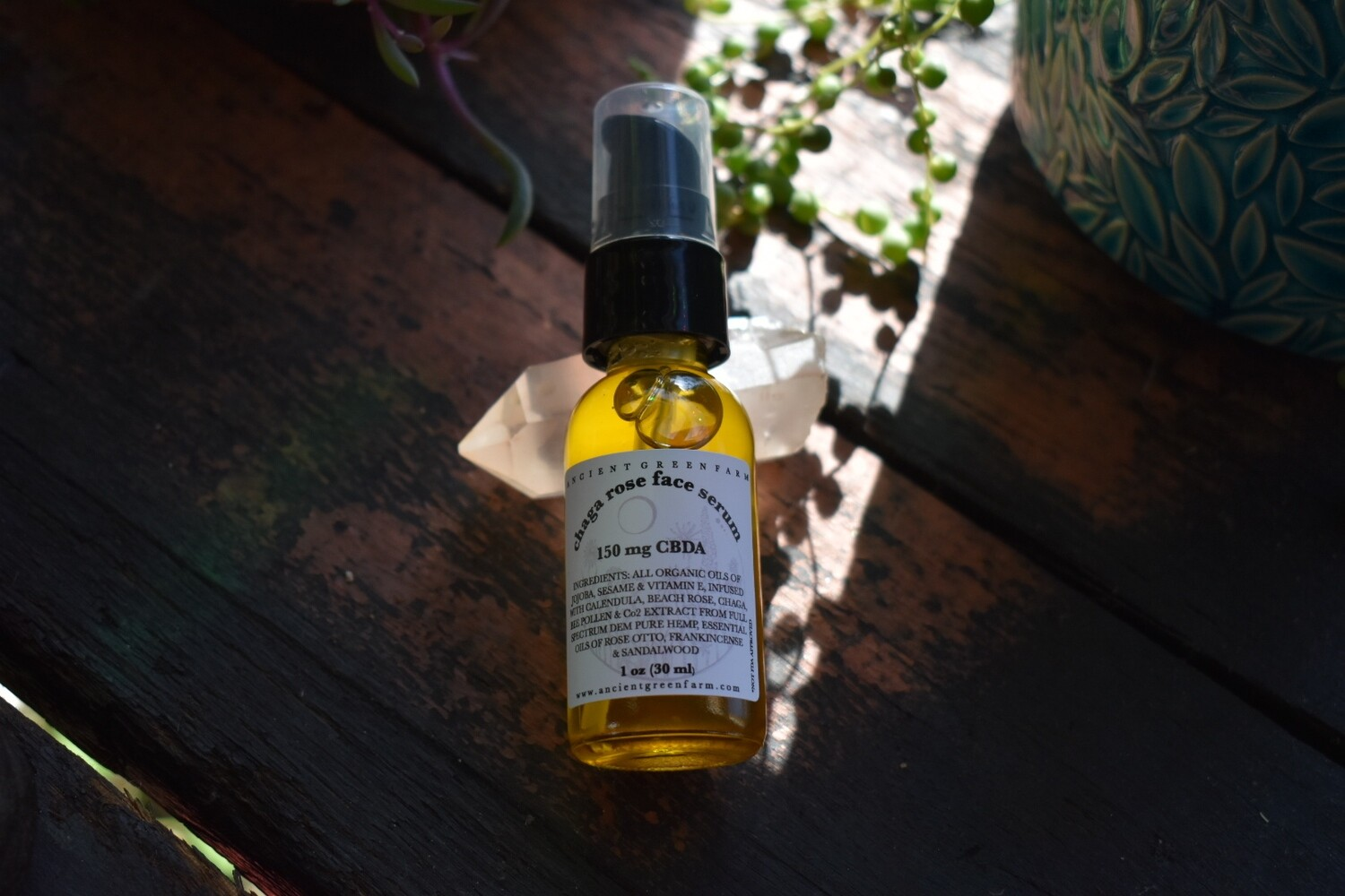 Chaga Rose Face Serum 150 mg
