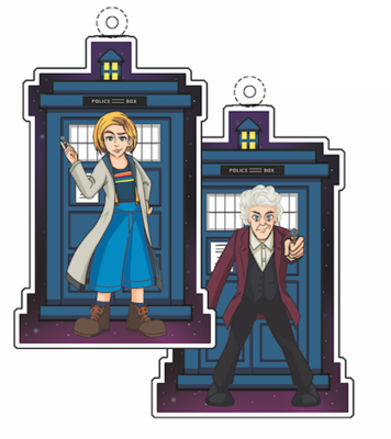Double-Sided Doctor Acrylic Charms