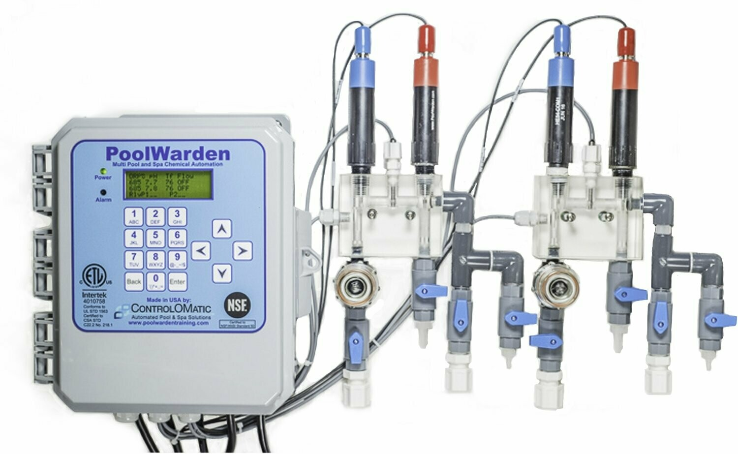 PoolWarden Pool Chemical Control System (Commercial)