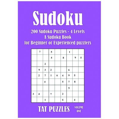 Sudoku - 200 puzzles - 4 levels of difficulty