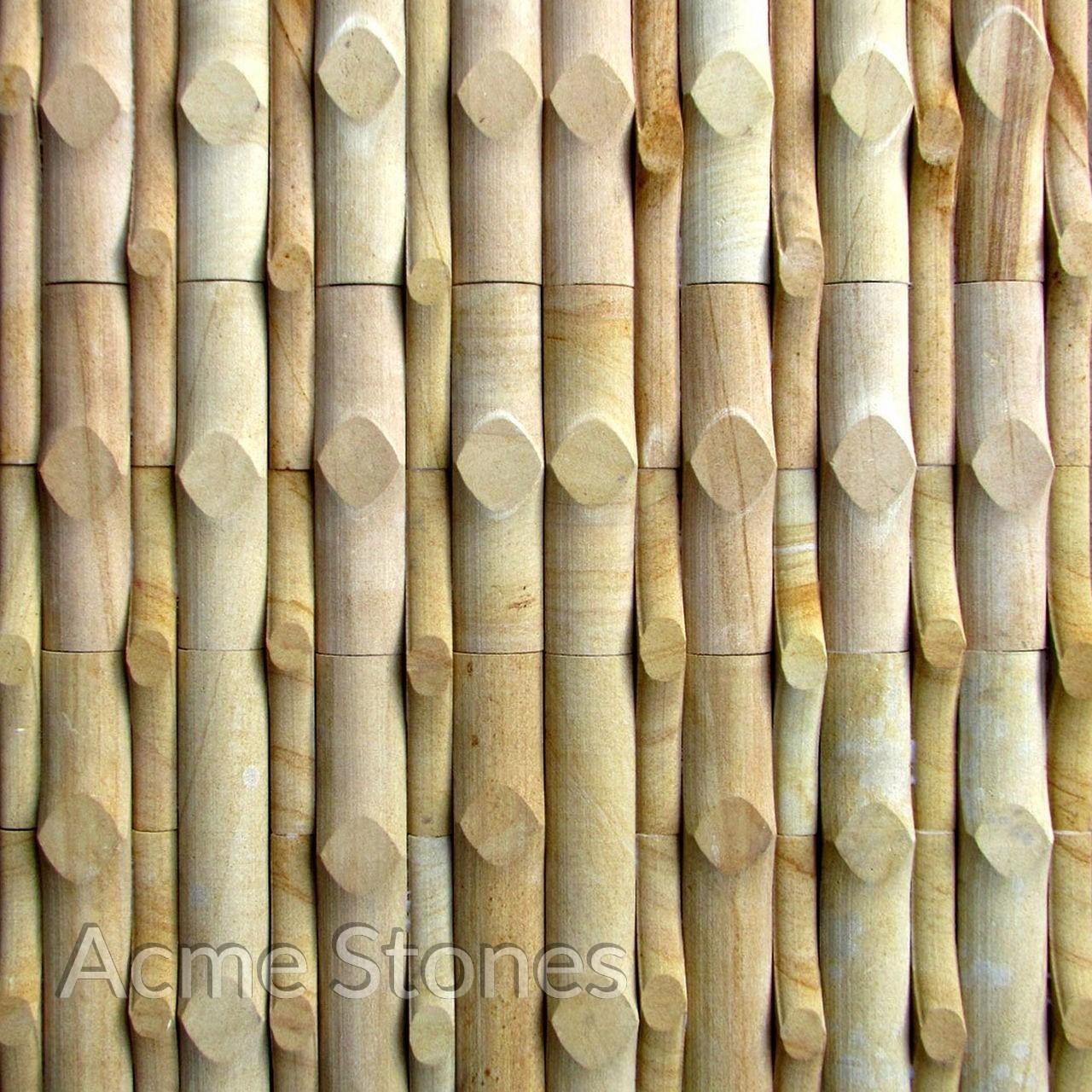 Stacking Teak Bamboo Moulding