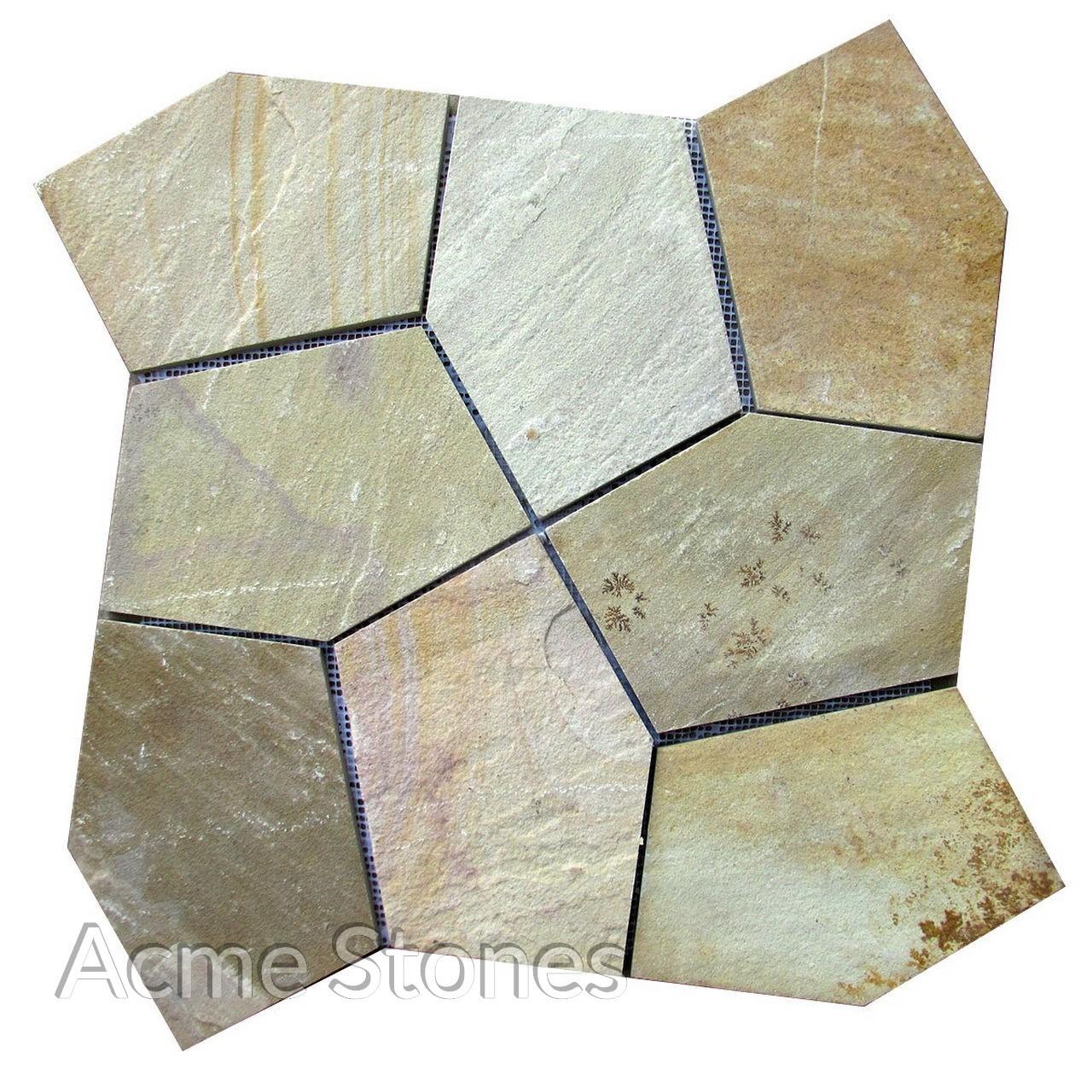 Flagstone Mint Natural 60x60cm