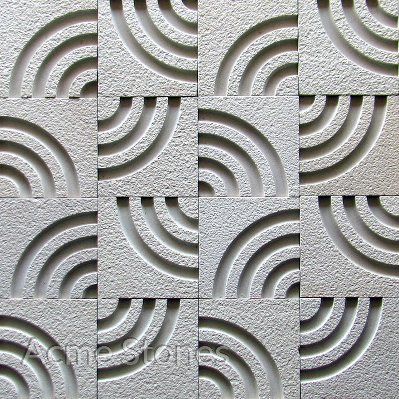 CNC Mint Concentric Circles