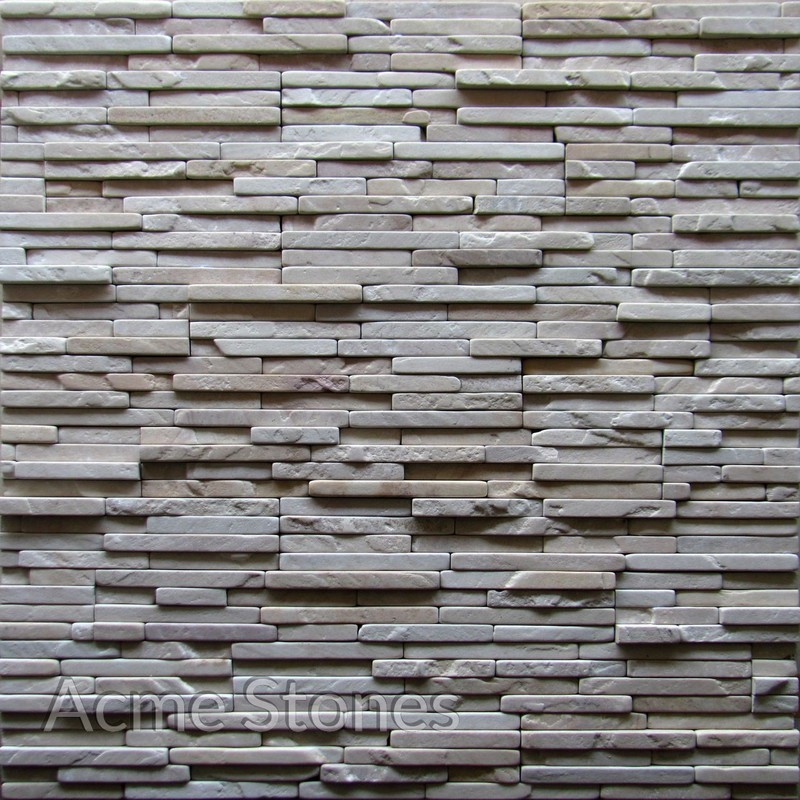 Stacking Mint Natural Tumbled 20mm Strip