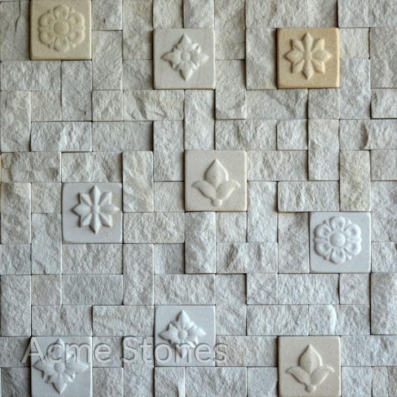 CNC Mint Split Set Pattern 3D Engraved
